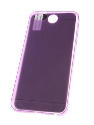 Накладка для iPhone 5/5S/SE (ультратонкая и прочная) + защитная пленка экрана Радужки. Цвет: фиолетовый