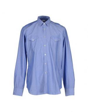 Pубашка LEXINGTON. Цвет: лазурный