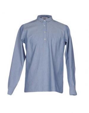 Pубашка WESC. Цвет: небесно-голубой