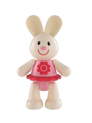 Заяц (TB) ELC. Цвет: белый, розовый