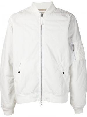 Куртка-бомбер 321. Цвет: белый