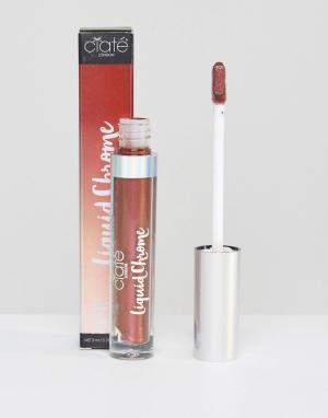 Ciaté Блеск для губ металлик Ciate Liquid Chrome. Цвет: оранжевый