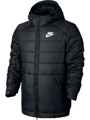 Куртка M NSW SYN FILL JKT HD Nike. Цвет: черный