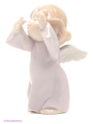 Фигурка Ангелочек Pavone. Цвет: бледно-розовый