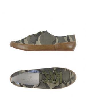 Низкие кеды и кроссовки CP CHARLES PHILIP SHANGHAI. Цвет: зеленый