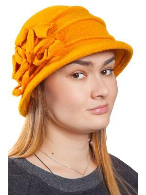 Шляпа Скарлет Three S. Цвет: горчичный