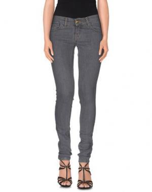Джинсовые брюки MONKEE GENES. Цвет: серый