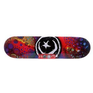 Дека для скейтборда  S5 Star & Moon Liquid Light 32.25 x 8.125 (20.6 см) Foundation. Цвет: мультиколор