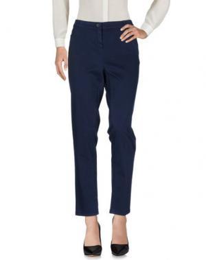 Повседневные брюки PAOLA ROSSINI. Цвет: синий