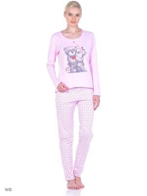 Домашний костюм SALHAM. Цвет: бледно-розовый