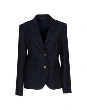 Пиджак BLUE LES COPAINS. Цвет: темно-синий