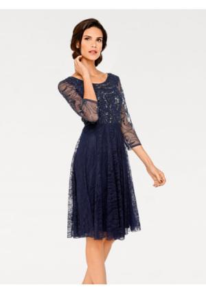 Коктейльное платье ASHLEY BROOKE by Heine. Цвет: темно-синий