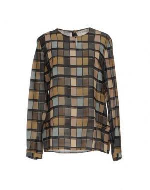 Блузка GUGLIELMINOTTI. Цвет: зеленый-милитари