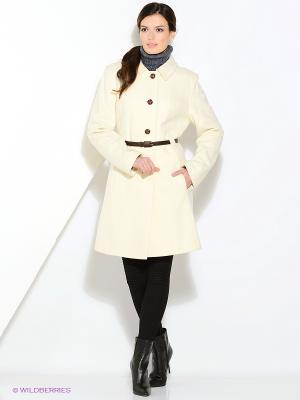 Пальто Gamelia. Цвет: белый
