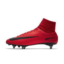 Футбольные бутсы для игры на мягком грунте  Mercurial Victory VI Dynamic Fit Nike. Цвет: красный