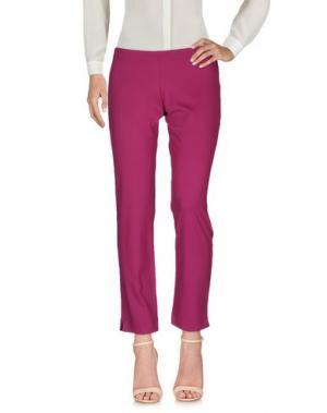 Повседневные брюки FISICO-CRISTINA FERRARI. Цвет: розовато-лиловый