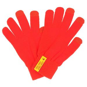 Перчатки  Touch Glove Red TrueSpin. Цвет: красный
