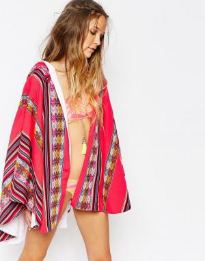 Pitusa Накидка-полотенце Inca. Цвет: rasberry