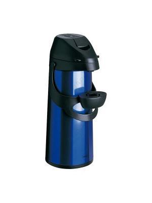 Термос EMSA PRONTO с насосом 1.9л синий 502484. Цвет: синий, черный