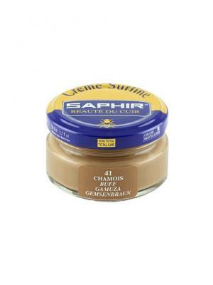 Крем для обуви  банка стекло sphr0032 Creme Surfine 50 мл. (41 коричнево-желтый) Saphir. Цвет: бежевый