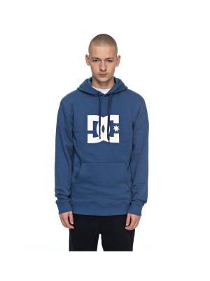 Худи DC Shoes. Цвет: синий, лазурный