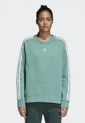 Свитшот adidas Originals. Цвет: зеленый