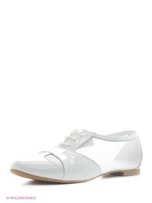 Балетки Almare. Цвет: белый