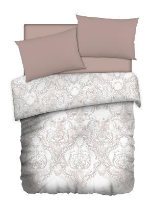 Постельное белье Romantic Collection. Цвет: бежевый