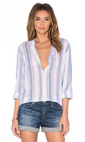 Рубашка с застёжкой на пуговицах briar AG Adriano Goldschmied. Цвет: синий
