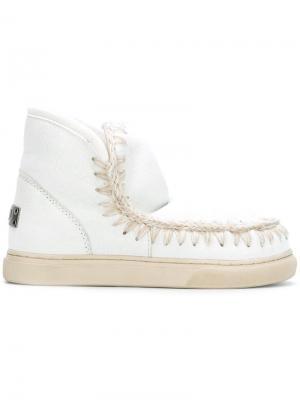Ботинки Eskimo Sneaker Mou. Цвет: белый