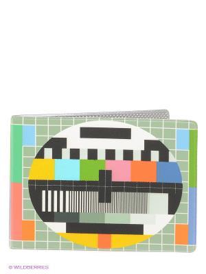 Обложка для студенческого ТВ-сетка Mitya Veselkov. Цвет: черный, голубой, красный