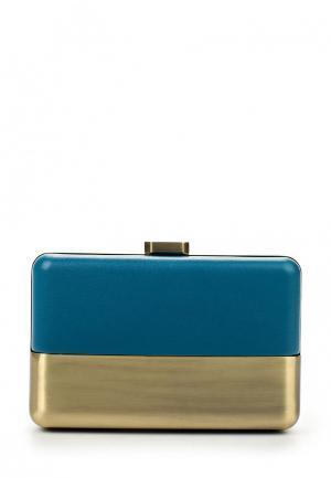 Клатч Olga Berg. Цвет: голубой