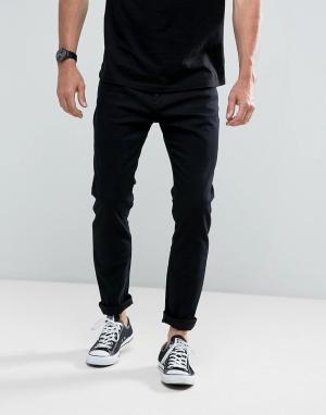 Rollas Черные джинсы скинни Stinger. Цвет: черный