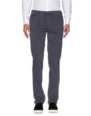 Повседневные брюки PIATTO. Цвет: свинцово-серый