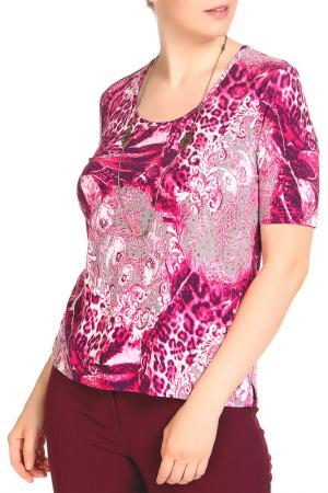 Блуза Анджелина LAVELLE. Цвет: мультицвет