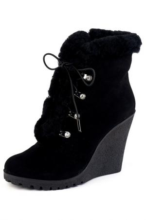 Ботинки Brocoli. Цвет: черный