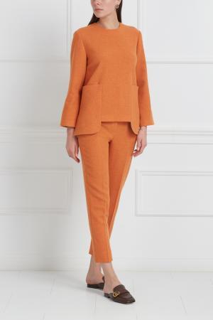 Шерстяной костюм Freshblood. Цвет: оранжевый