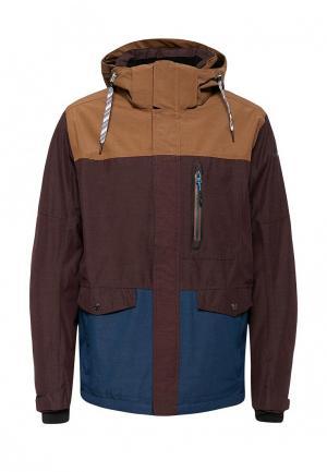 Куртка горнолыжная Icepeak. Цвет: разноцветный