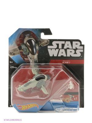 Звездолёт серии Звёздные войны Hot Wheels. Цвет: серый, белый
