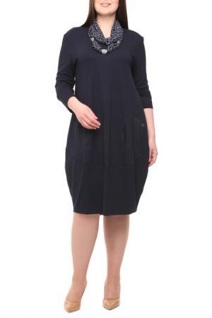 Платье Leshar. Цвет: синий