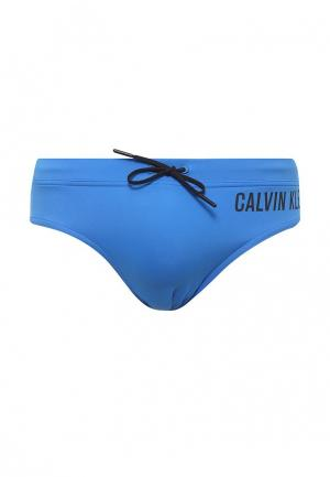 Плавки Calvin Klein Underwear. Цвет: синий