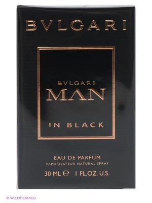 Туалетная вода Man In Black, 30 мл BVLGARI. Цвет: черный