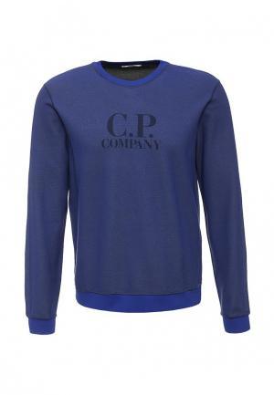 Свитшот C.P. Company. Цвет: синий