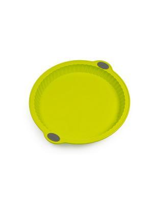 Форма для пирога из силикона на металлическом каркасе OURSSON. Цвет: зеленый