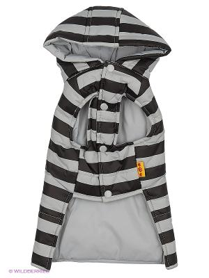Куртка Lovabledog. Цвет: черный, серый