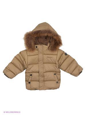 Куртка MES AMI. Цвет: бежевый