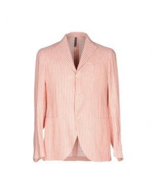 Пиджак MONTEDORO. Цвет: лососево-розовый