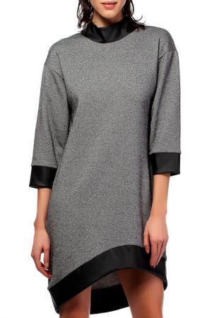 Платье BeWear. Цвет: graphite