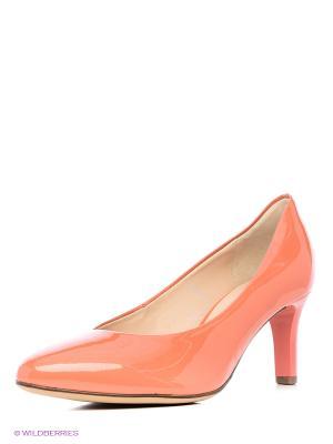 Туфли HOGL. Цвет: персиковый