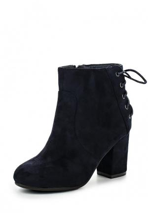 Ботильоны HF Shoes. Цвет: синий
